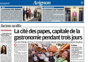 article La Provence Remise Diplôme Isema 2016 01957