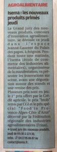 La Provence 10 Avril 2018 5e381