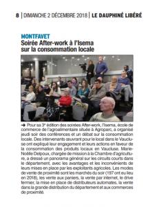 article Dauphiné Libéré 2 déc 2018 4d890